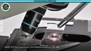 Df videotrainings u dunkelfeld mikroskope